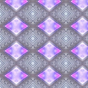 diamonds - mauve