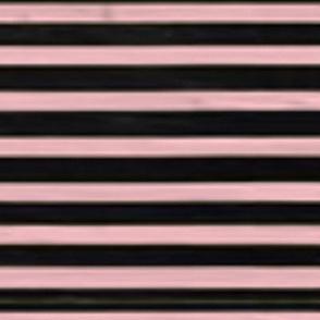 Baby Pink & Black Nautical Stripes