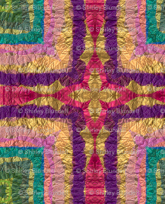 Tissue Paper Design Kaleidoscoped