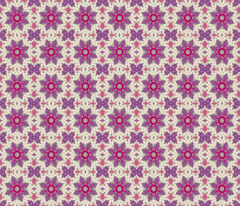 Tissue Star fabric by koalalady on Spoonflower - custom fabric