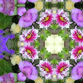 Birthday Flowers Kaleidoscope