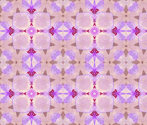 Blossoms  mauve fabric by koalalady on Spoonflower - custom fabric