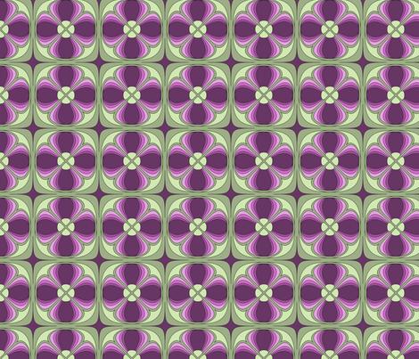Deco Clover fabric by audsbodkin on Spoonflower - custom fabric