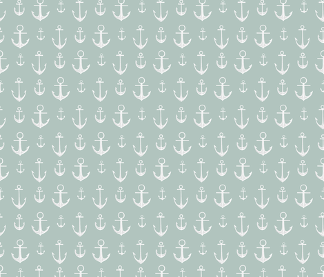 Anchors fabric by tinawilson on Spoonflower - custom fabric
