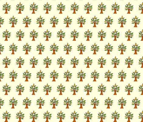 Tree fabric by desiloopbyssk on Spoonflower - custom fabric