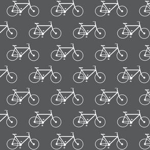 Charcoal & White Bike