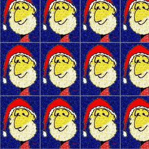 Silly Faces Santa