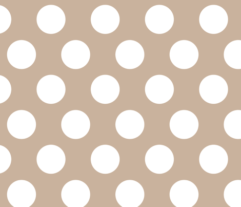 indian princess large dots fabric by juneblossom on Spoonflower - custom fabric