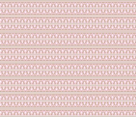 indian princess stripe small fabric by juneblossom on Spoonflower - custom fabric