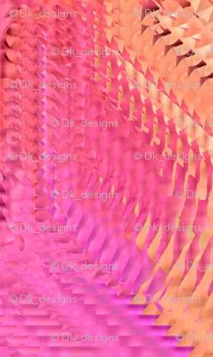 pastel yellow and pink circles