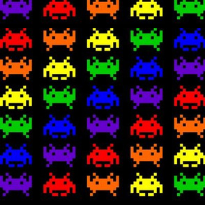 Retro Space Invaders - 1