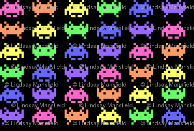 Retro Space Invaders - 3