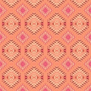 pastel,peach and pink triangles
