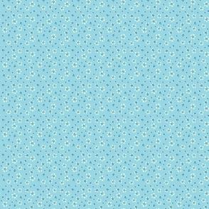 DAISIES-blue-blue