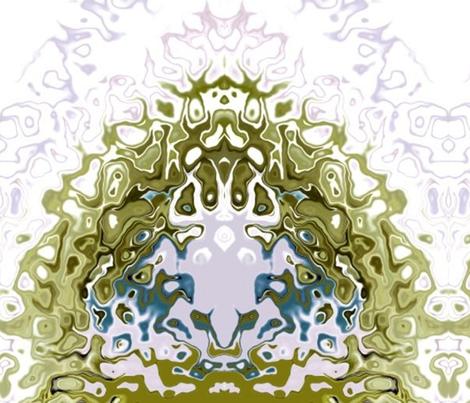 Frog Fantasy fabric by gwenyth on Spoonflower - custom fabric