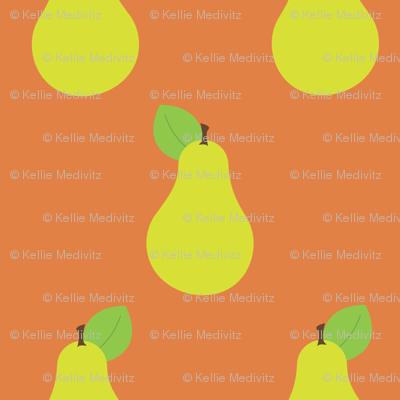 Peary Pretty {Orange}