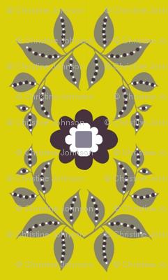 midsummer motif / yellow