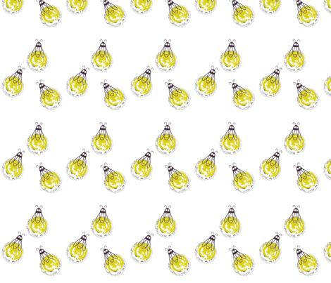 Summer Night Fireflies fabric by macydawn on Spoonflower - custom fabric