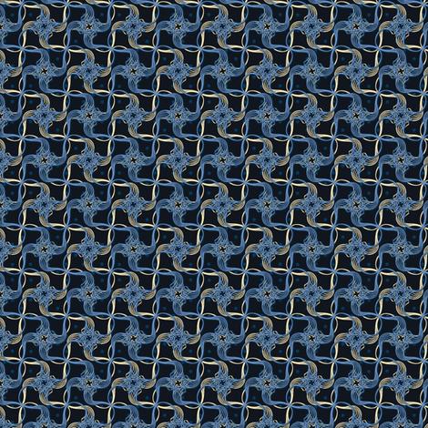 carved swirls synergy0010 twilight fabric by glimmericks on Spoonflower - custom fabric