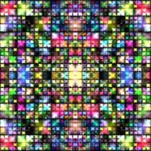 Colorful Tiny Lights Mosaic © Gingezel™ 2014