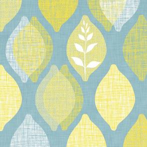 Amalfi Lemon Linen