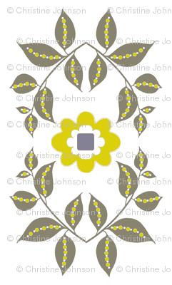 midsummer motif / white