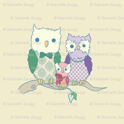 Owl Family 2