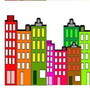 Retro City Buildings