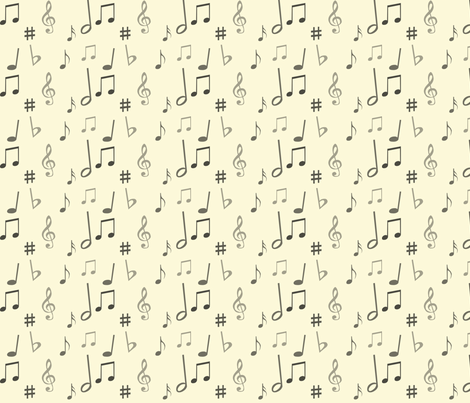 Music_Notes fabric by icepelt on Spoonflower - custom fabric