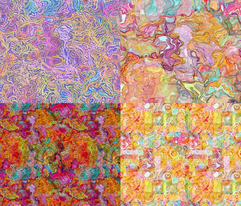 4 on a yard fantastic voyage fabric by keweenawchris on Spoonflower - custom fabric