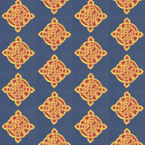 for all you Celts fabric by rezhoney on Spoonflower - custom fabric