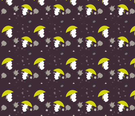 MidSummer_Cloud fabric by beryl_index on Spoonflower - custom fabric