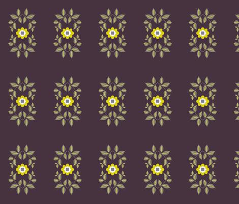 midsummer motif / dark fabric by paragonstudios on Spoonflower - custom fabric