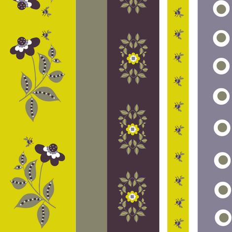 midsummer eyelet / floral fabric by paragonstudios on Spoonflower - custom fabric