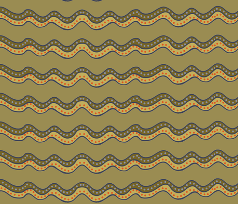 muddy stripes, wide - large 150 fabric by wiccked on Spoonflower - custom fabric