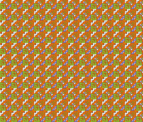 houndstooth echo - folksong fabric by glimmericks on Spoonflower - custom fabric
