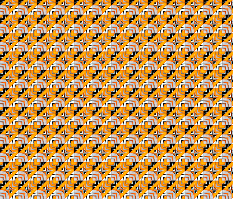 houndstooth echo time travel synergy0007 fabric by glimmericks on Spoonflower - custom fabric