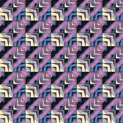 houndstooth echo twilight synergy0010 fabric by glimmericks on Spoonflower - custom fabric