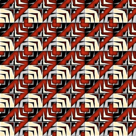 houndstooth echo movie synergy0009 fabric by glimmericks on Spoonflower - custom fabric