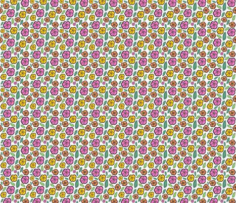 Secret Garden fabric by abloom on Spoonflower - custom fabric