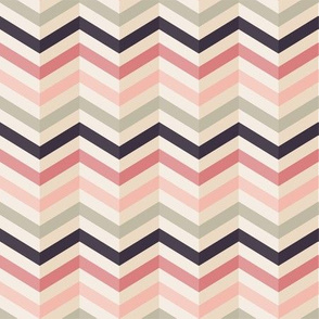 Chevron pattern in soft pink colors