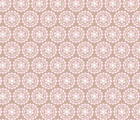 baby girl blooms 5 fabric by juneblossom on Spoonflower - custom fabric