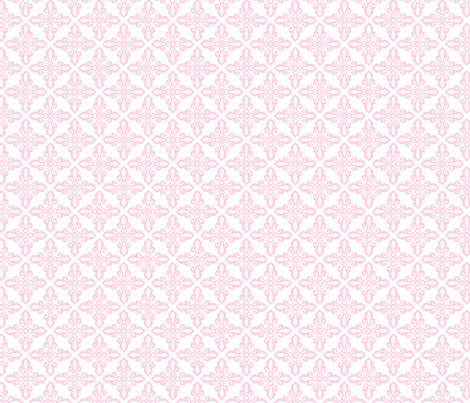 rajkumhari motif pink small fabric by juneblossom on Spoonflower - custom fabric