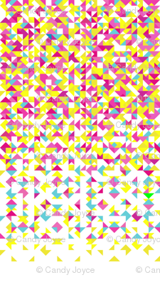 Triangle Pink Tonal
