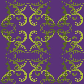 Fern Lattice on Purple