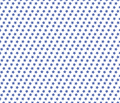 Blue Stars fabric by nixongraphix on Spoonflower - custom fabric