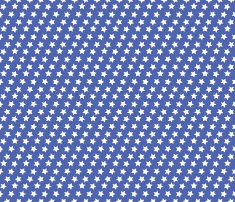 White Stars fabric by nixongraphix on Spoonflower - custom fabric