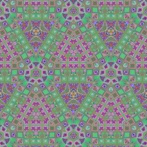 Lina's Garden Hexagon Pattern 2 © Gingezel™ 2013