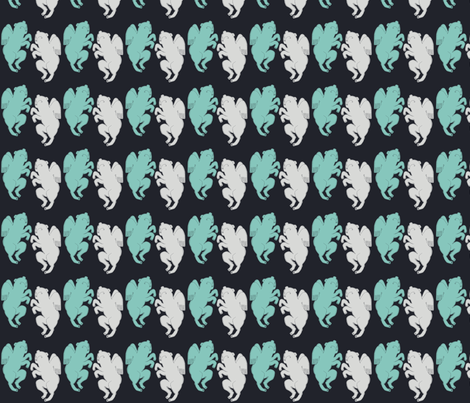 Flying Lion fabric by benconservato on Spoonflower - custom fabric