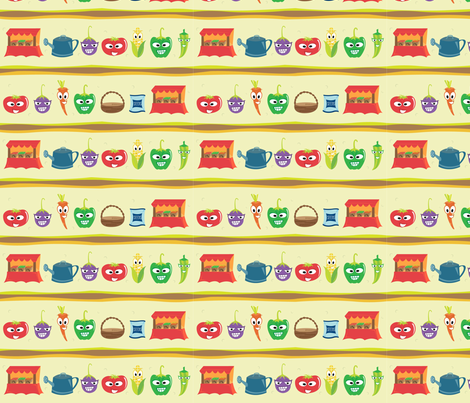 farmer_s-market fabric by smcreations on Spoonflower - custom fabric